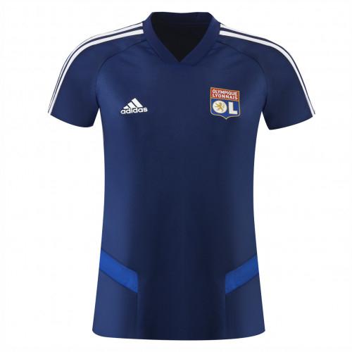 T-shirt entrainement féminin TIRO bleu marine PRO adidas 19-20