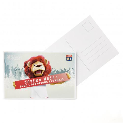 Carte Postale Lyon Noël - Taille - Unique