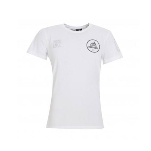 T-Shirt Adulte Homme Blanc Three Stripe Life