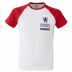 T-shirt raglan rouge Adulte