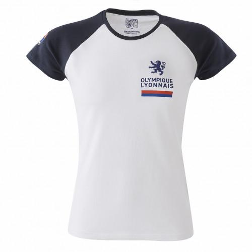 T-shirt raglan bleu navy Femme - Taille - XL
