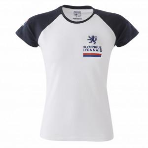 T-shirt raglan bleu navy Femme