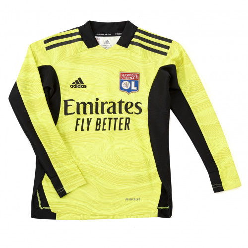 Maillot Gardien Jaune Manches Longues Junior 21-22 - Taille - 13-14A