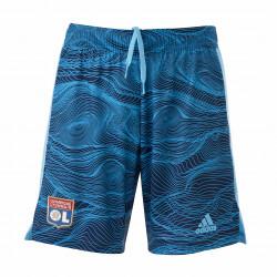 Blue Goalkeeper Shorts Men 21-22