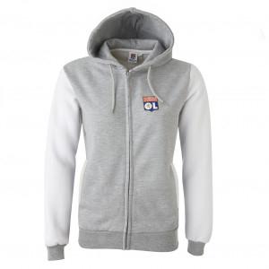 Women's Grey Core Hooded Jacket