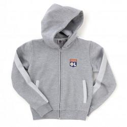 Junior Grey Core Hooded Jacket