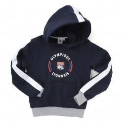 Junior Navy Blue Core Hooded Sweatshirt