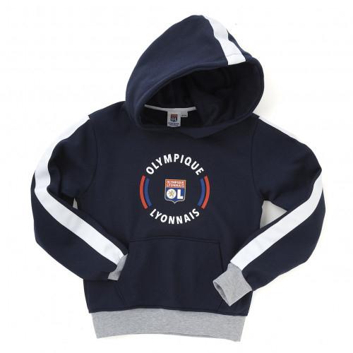 Sweatshirt à capuche Bleu Marine Core junior - Taille - 12-14A