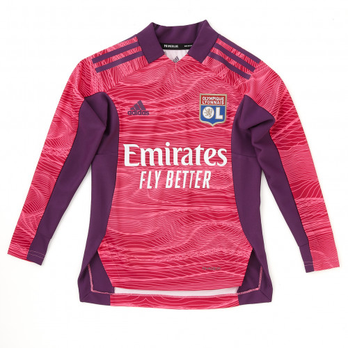 Maillot Gardien Rose Manches Longues Junior 21-22 - Taille - 13-14A