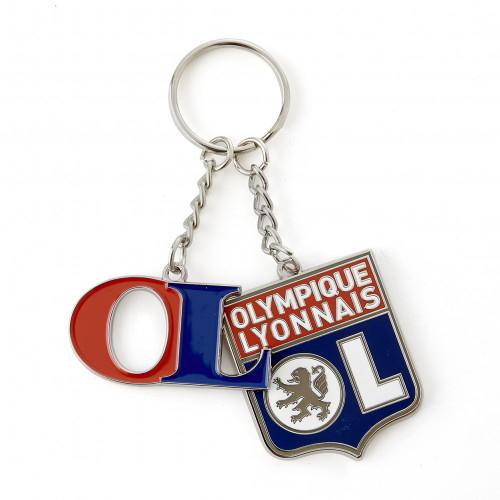 Porte-clés OL et Blason