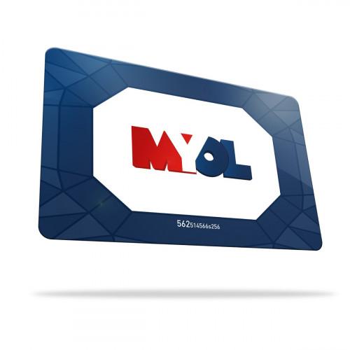 Rechargement Carte MYOL - Montant - 50