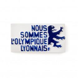 Magnet Nous sommes l'Olympique Lyonnais