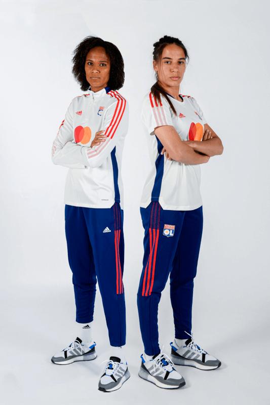 training-adidas-femme-olympique-lyonnais